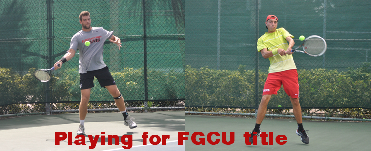 Men's Tennis: Day 2 at FGCU Fall Invitational