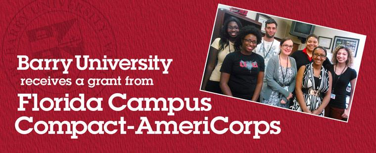 Counseling Graduate Students Selected as Mentors through 2013-2014 Florida Campus Compact-AmeriCorps Grant