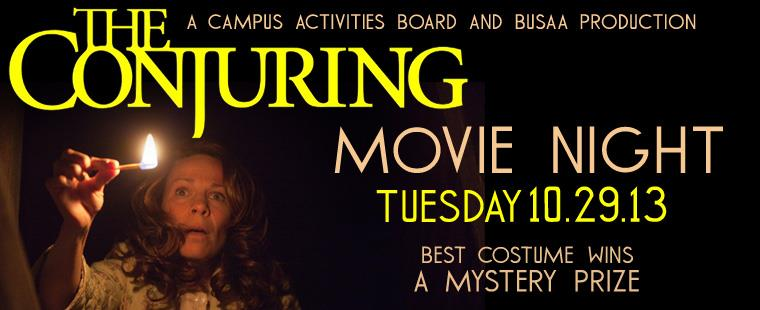 Movie Night: The Conjuring