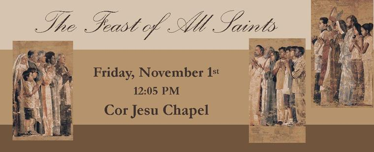 Mass on the Feast of All Saints
