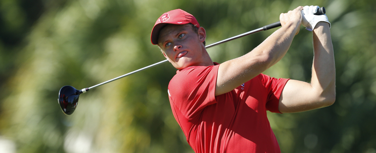 Men's Golf Ties for 8th at McDonough Cup