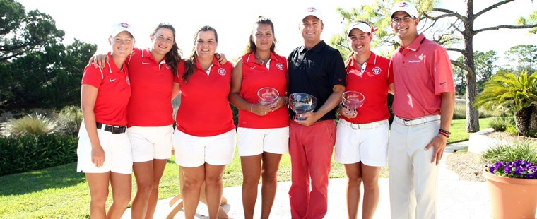 Women's Golf Wins Flagler Fall Slam