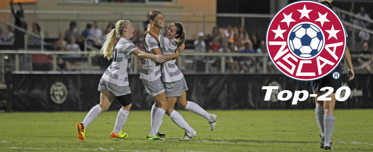 Barry Back In Women's Soccer National Rankings