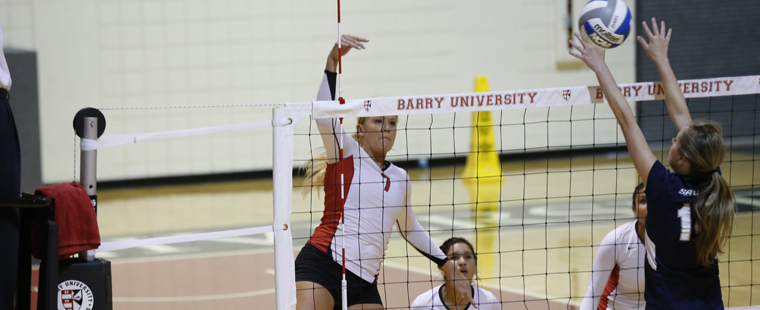 Volleyball Hosts Rollins, No. 2 Tampa This Weekend