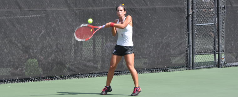 Women's Tennis Doubles Duos Advance at FIU