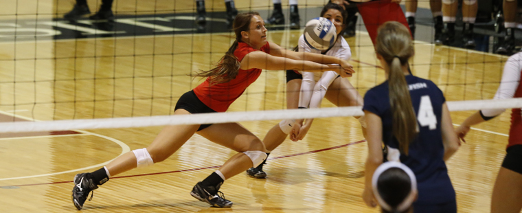 Volleyball Battles No. 2 Spartans Tough in Loss