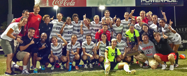 Women's Soccer Crowned SSC Champs