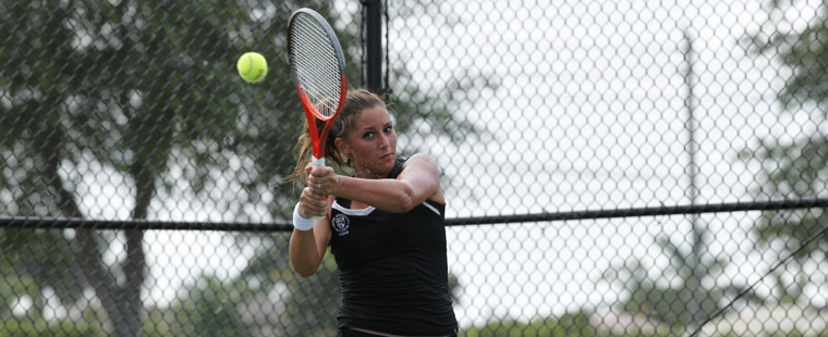 Goia Captures Women's Tennis Title