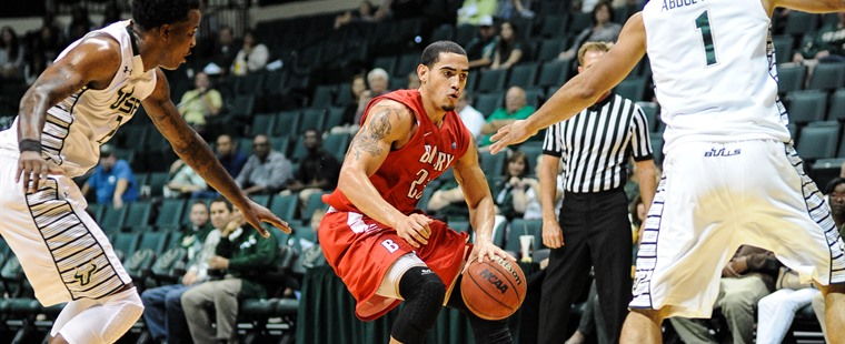 Men's Basketball Falls in South Florida Exhibition