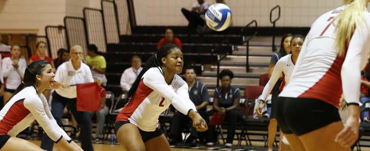 Volleyball Begins Road Stretch Tonight at No. 23 PBA