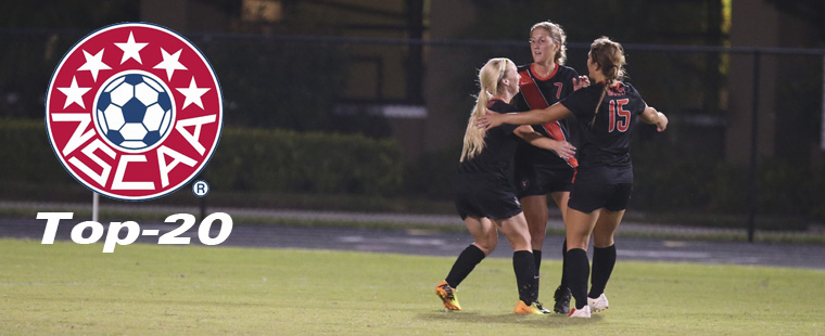 Women's Soccer Takes Two More Steps Up National Poll
