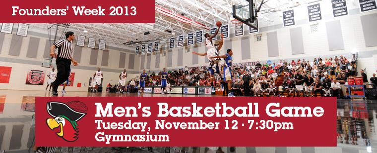 Men's Basketball Game vs Florida Memorial