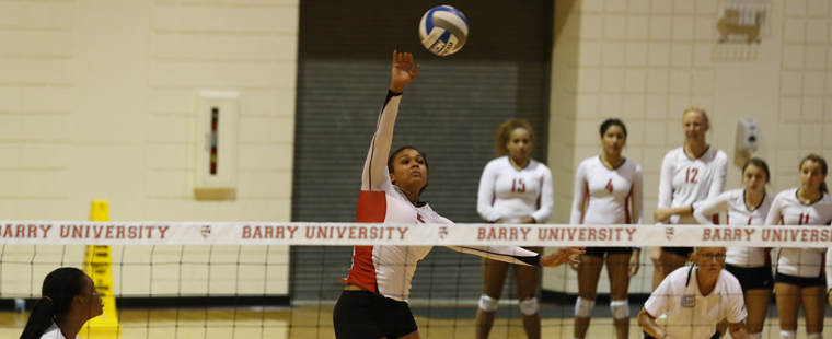 Barry Volleyball Takes No. 23 PBA to Wire