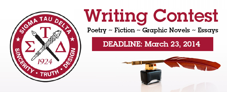Sigma Tau Delta Writing Contest
