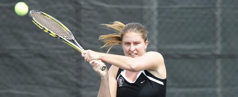 Onila, Fritschken Drop 1st Round ITA Women's Tennis Match