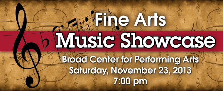 Fine Arts Music Showcase