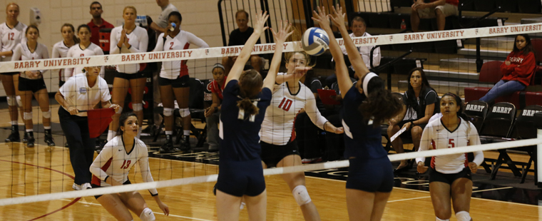 Volleyball Stomps Florida Tech in 4