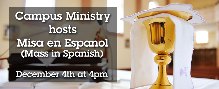 Mass in Spanish/ Misa en Español