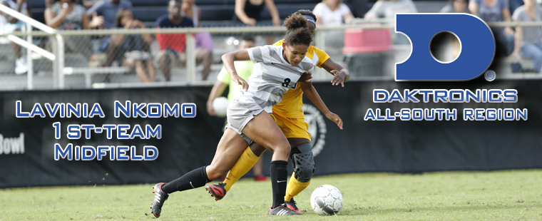 Lavinia Nkomo Leads Buccaneer Contingent On All-Region Women's Soccer Team