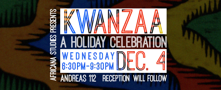 Kwanzaa: A holiday Celebration