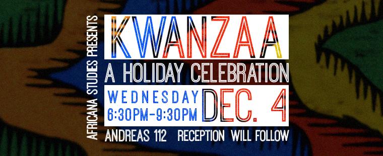 Kwanzaa: A holiday Celebration
