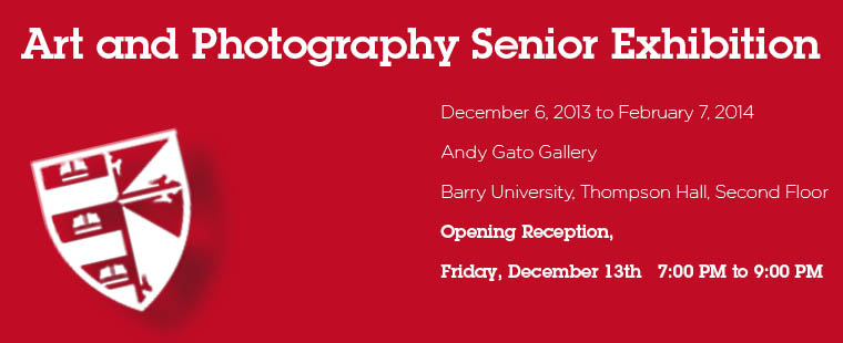 Art and Photography Senior Exhibition