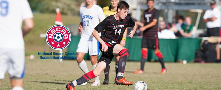 Coombes Tabbed Men's Soccer NSCAA All-South Region