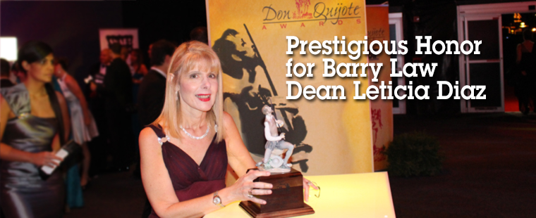 Barry Law Dean Wins Top Professional Award