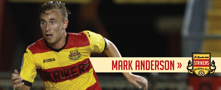Men's Soccer Standout Returns For Another Season With Fort Lauderdale Strikers