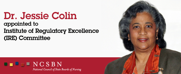 Dr. Jessie Colin appointed to Institute of Regulatory Excellence Committee