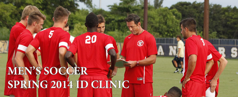Men's Soccer 2014 ID Clinic