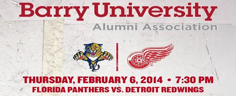 Barry Alumni Night at the BB&T Center - Florida Panthers v Detroit Red Wings