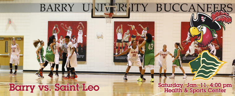 Women's Basketball Hosts Saint Leo Lions On Saturday