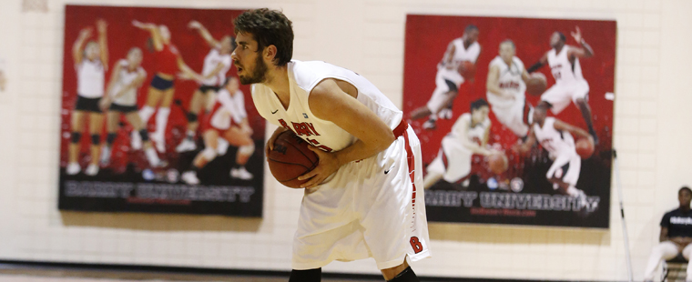 Men's Hoops Tamed by Lions