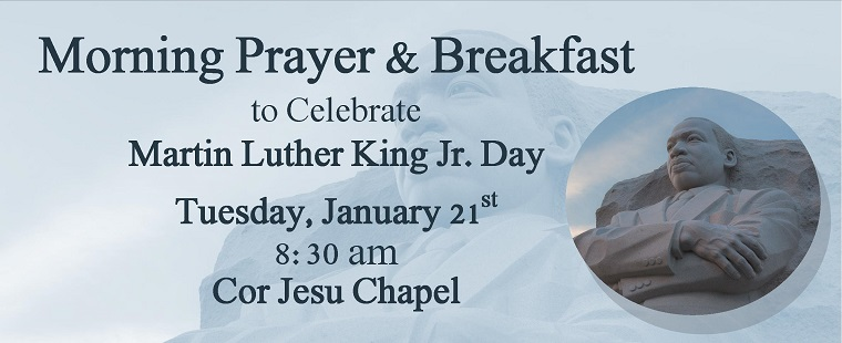 Prayer Service & Breakfast for Martin Luther King Day