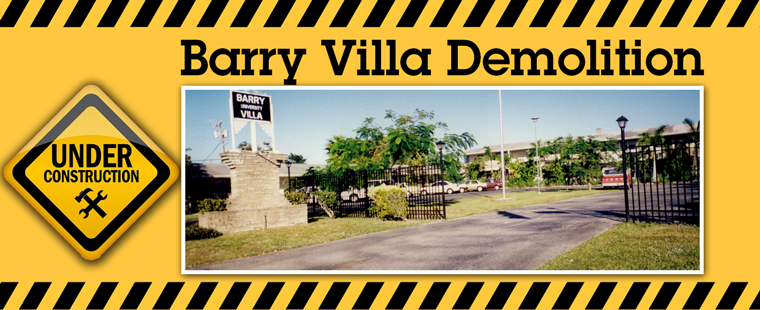 Demolition of Barry University Villa