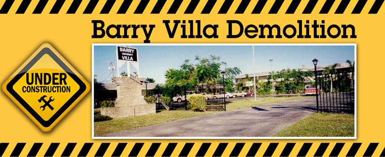 Demolition of Barry University Villa
