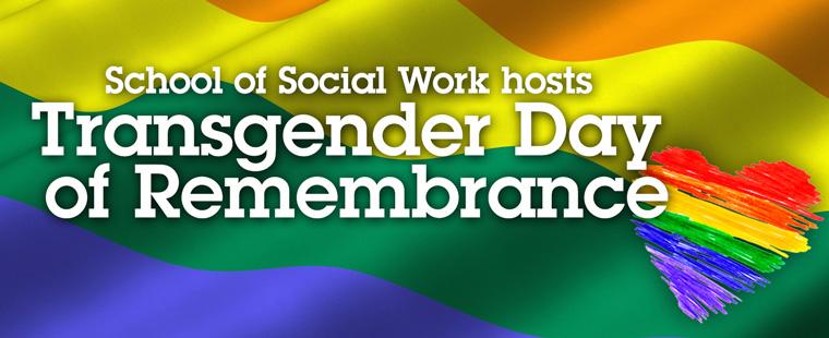 School of Social Work hosts Transgender Day of Remembrance
