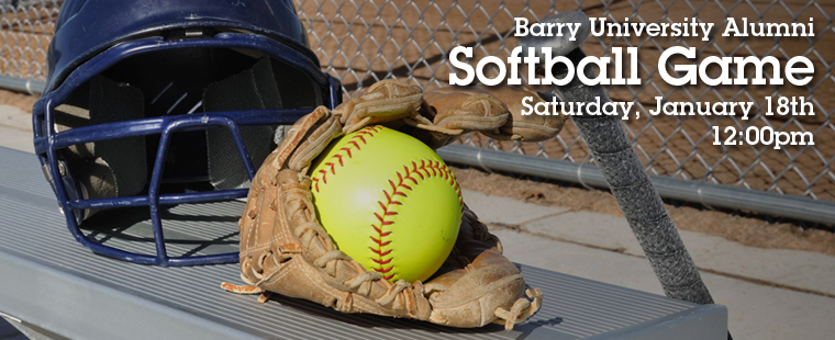 Barry University Alumni Softball Game