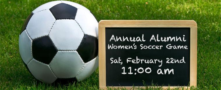 Annual Alumni Women's Soccer Game