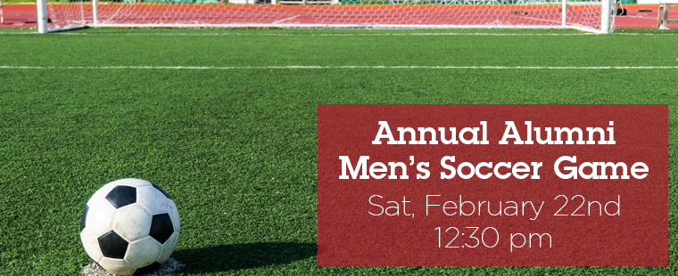 Annual Alumni Men's Soccer Game