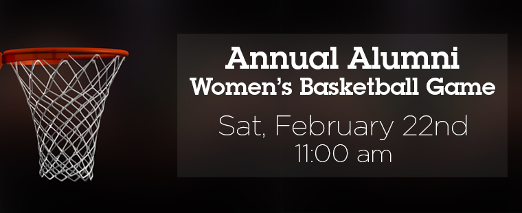 Annual Alumni Women's Basketball Game