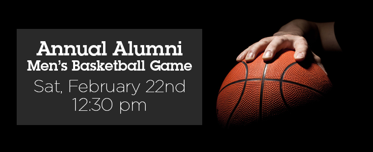 Annual Alumni Men's Basketball Game
