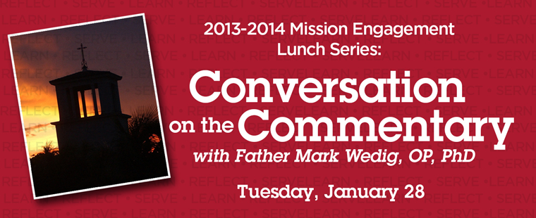 Mission Engagement Lunch Series: Conversation on the Commentary