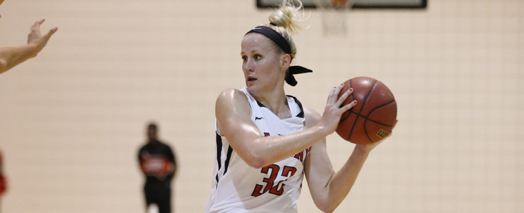 Women's Basketball Rolls Past Rival 'Knights