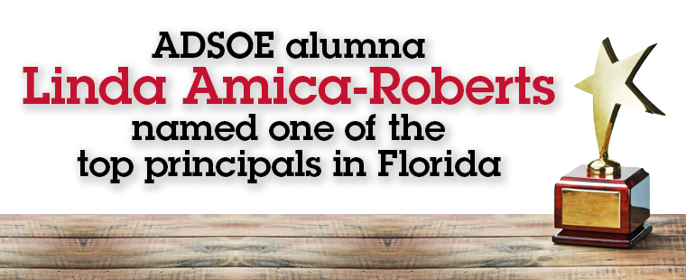 ADSOE alumna named one of top principals in Florida