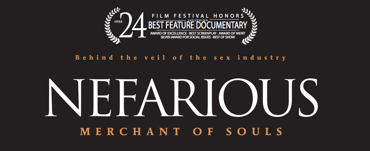 "Free Screening of ""Nefarious"" Documentary Feb. 13"