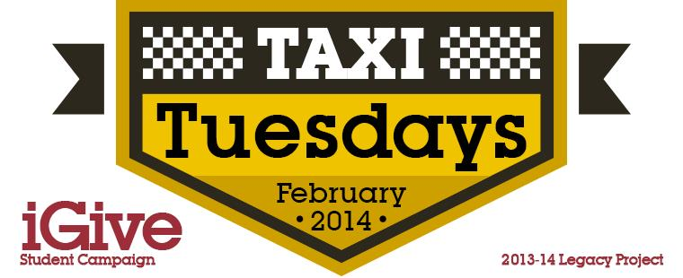 Hitch a Ride on Taxi Tuesdays!