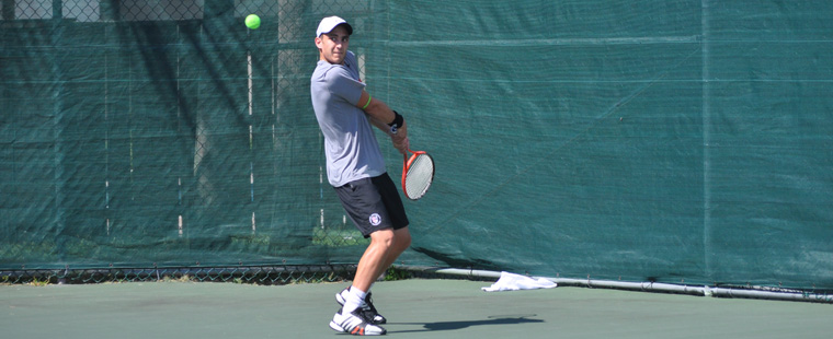 No. 1 Men's Tennis Beats Florida Tech in Opener