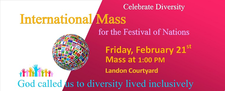 International Mass for the Festival of Nations